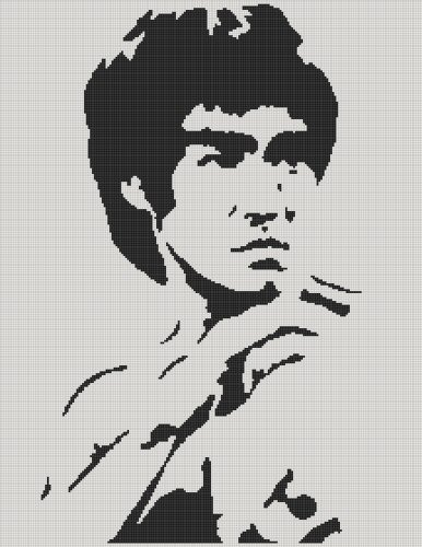 Bruce Lee Full Word Chart