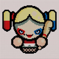 (Harley) Simples Diamond Painting-Cross Stitch 2-1 Format