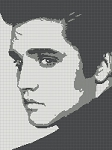 Elvis Historic Icon Portrait Word Chart