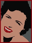 Patsy Cline Historic Icon Portrait Word Chart