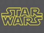 Star Wars Logo Standard Word Chart