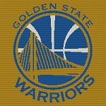 Golden State Warrior 1 Square Word Chart