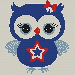 4th of July Owl Baby/Pillow Word Charts  --AMJ2016
