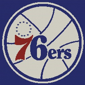 76ers Square Word Chart